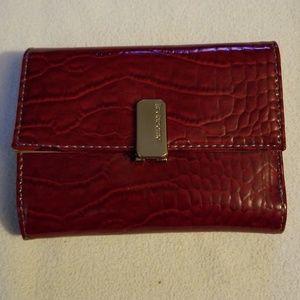 NWOT Liz Clairborne faux snakeskin wallet